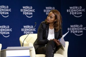 Bethlehem Tilahun Alemu at the World Economic Forum on Africa held in Addis Ababa, Ethiopia, 9-11 May, 2012.